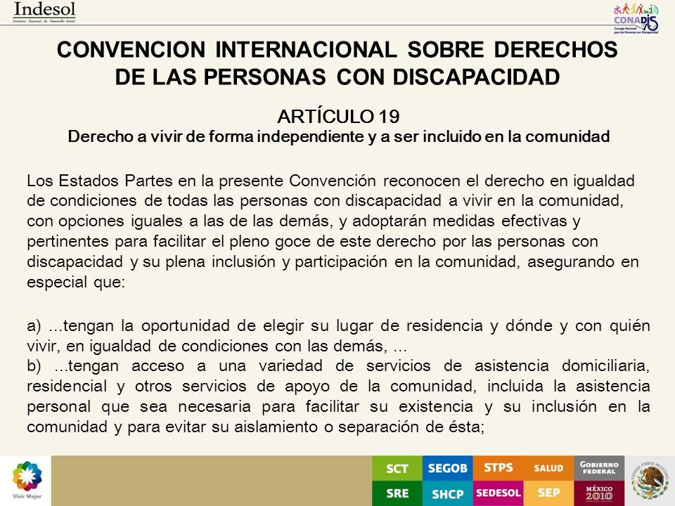CONVENCION INTERNACIONAL SOBRE DERECHOS