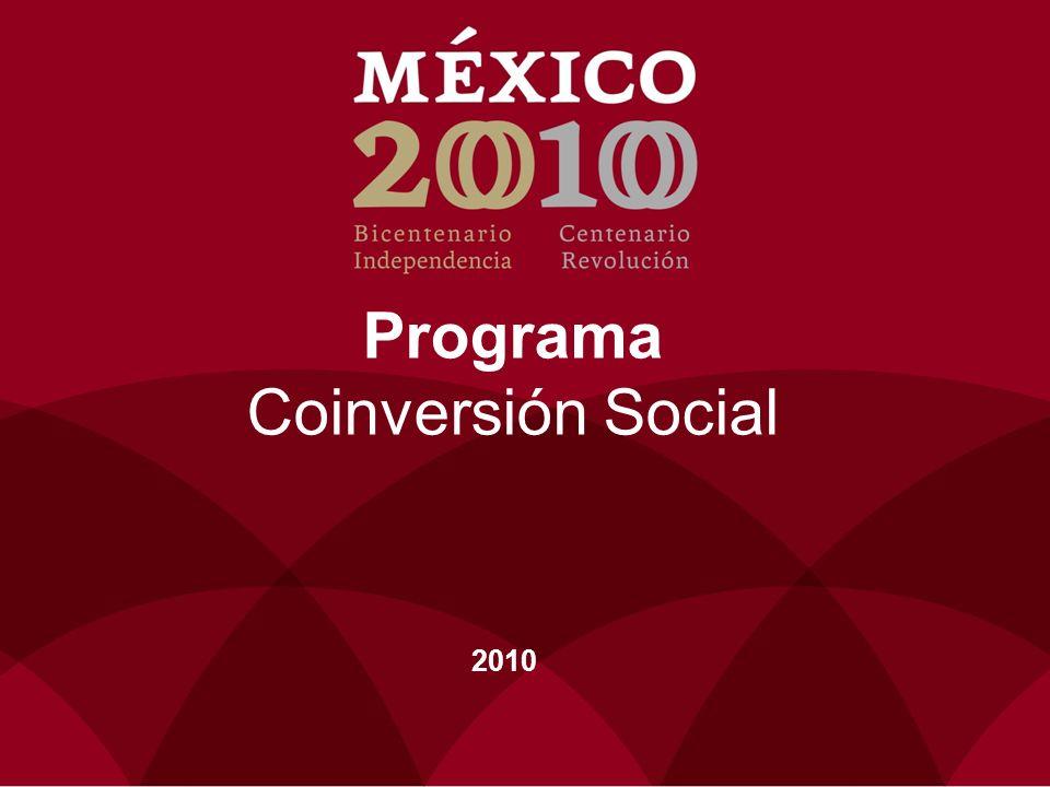 Programa Coinversión Social 2010 9