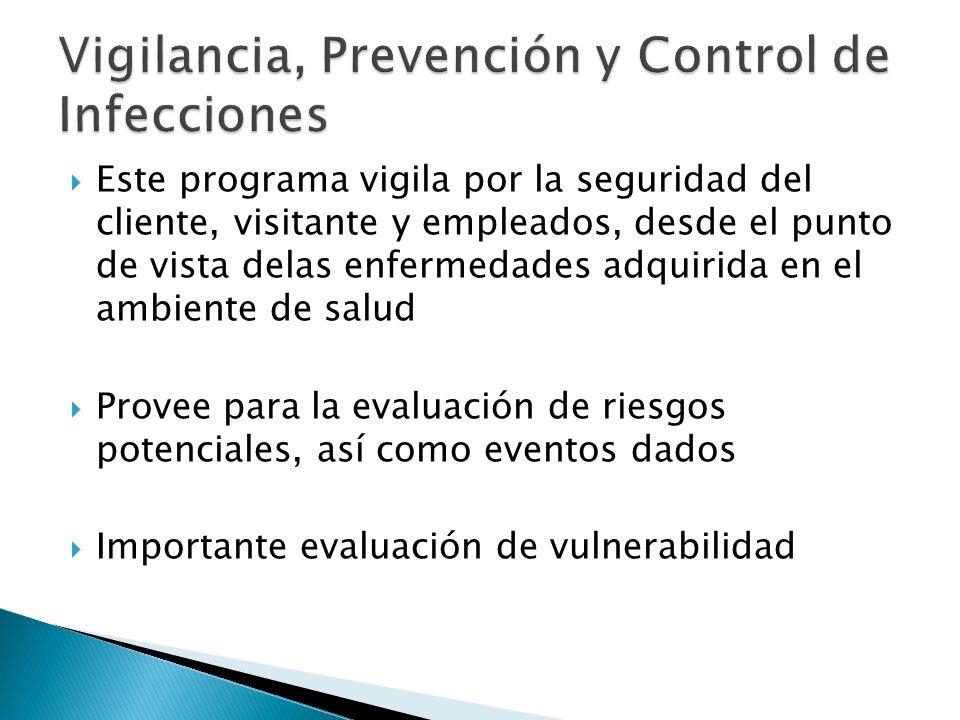 Vigilancia, Prevención y Control de Infecciones