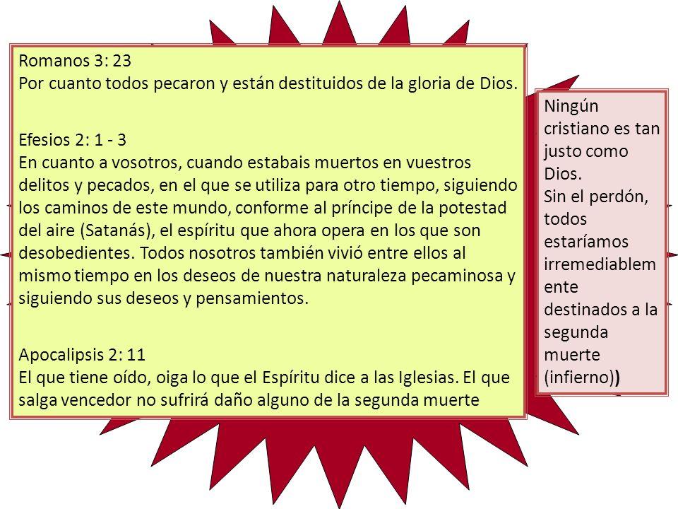 Romanos 3: 23 Por cuanto todos pecaron y están destituidos de la gloria de Dios.
