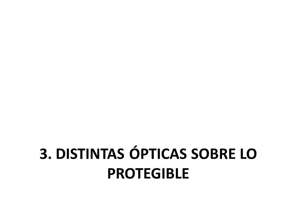3. Distintas ópticas SOBRE LO PROTEGIBLE