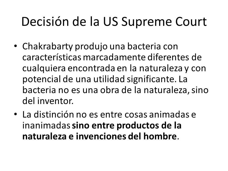 Decisión de la US Supreme Court
