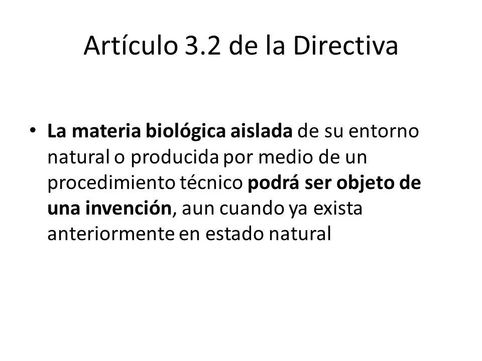 Artículo 3.2 de la Directiva