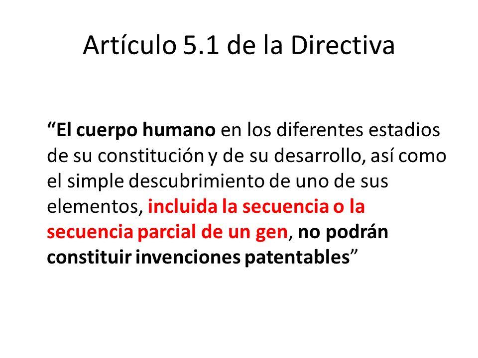Artículo 5.1 de la Directiva