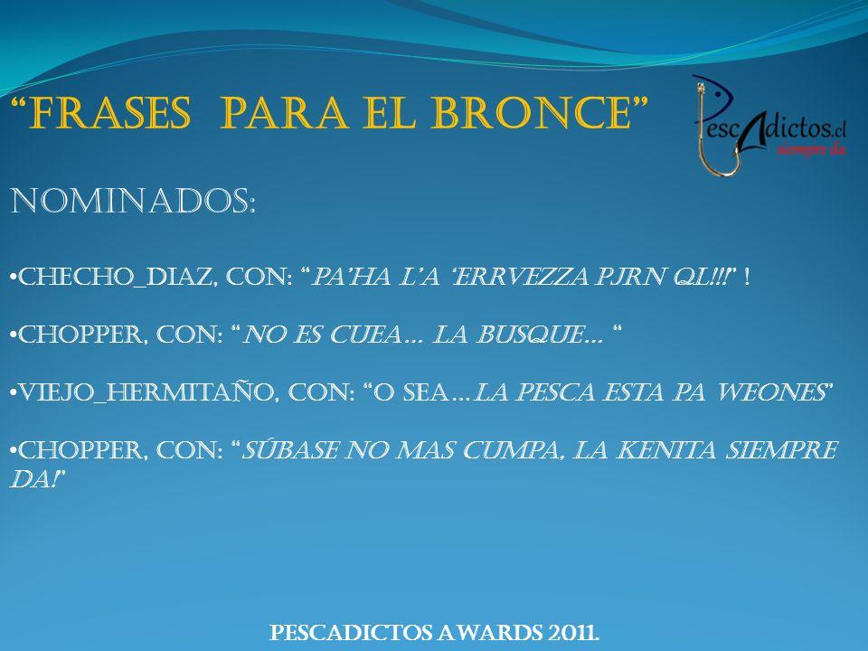 Frases para el Bronce