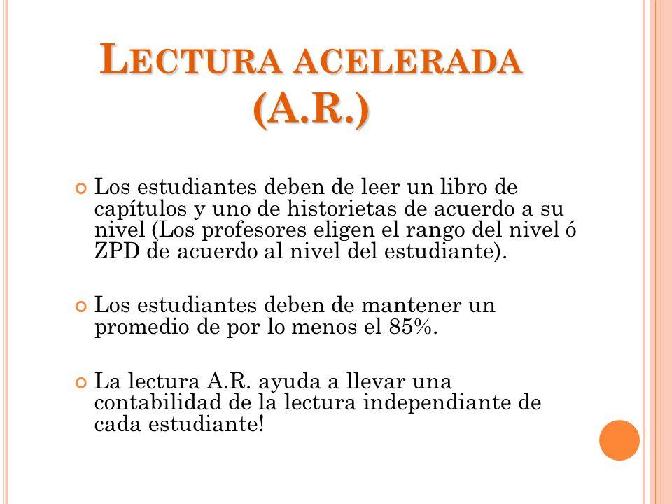 Lectura acelerada (A.R.)