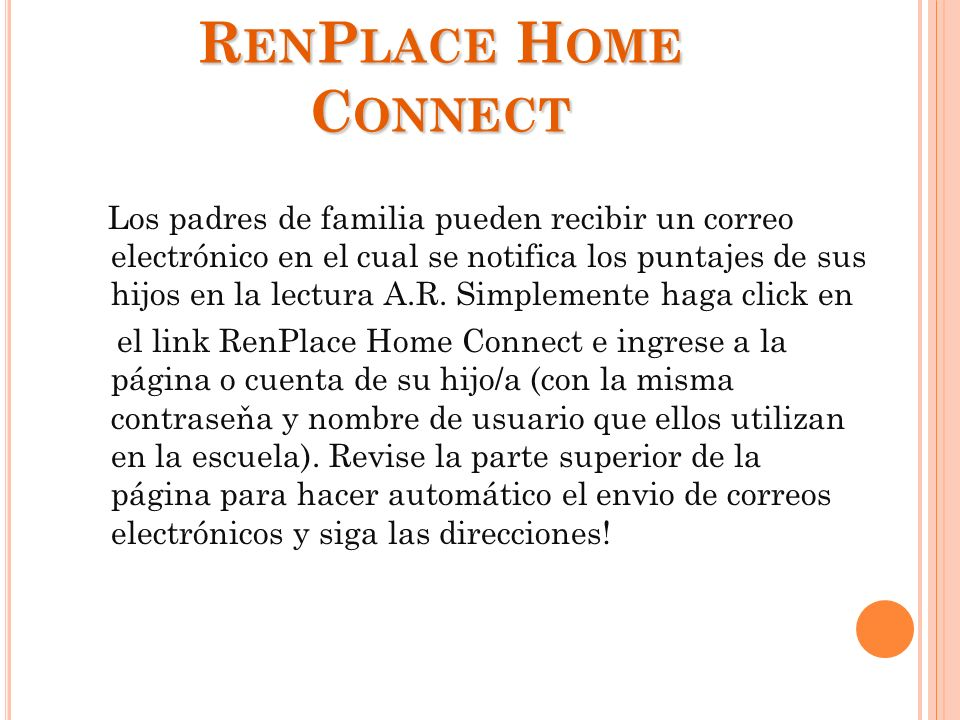 RenPlace Home Connect