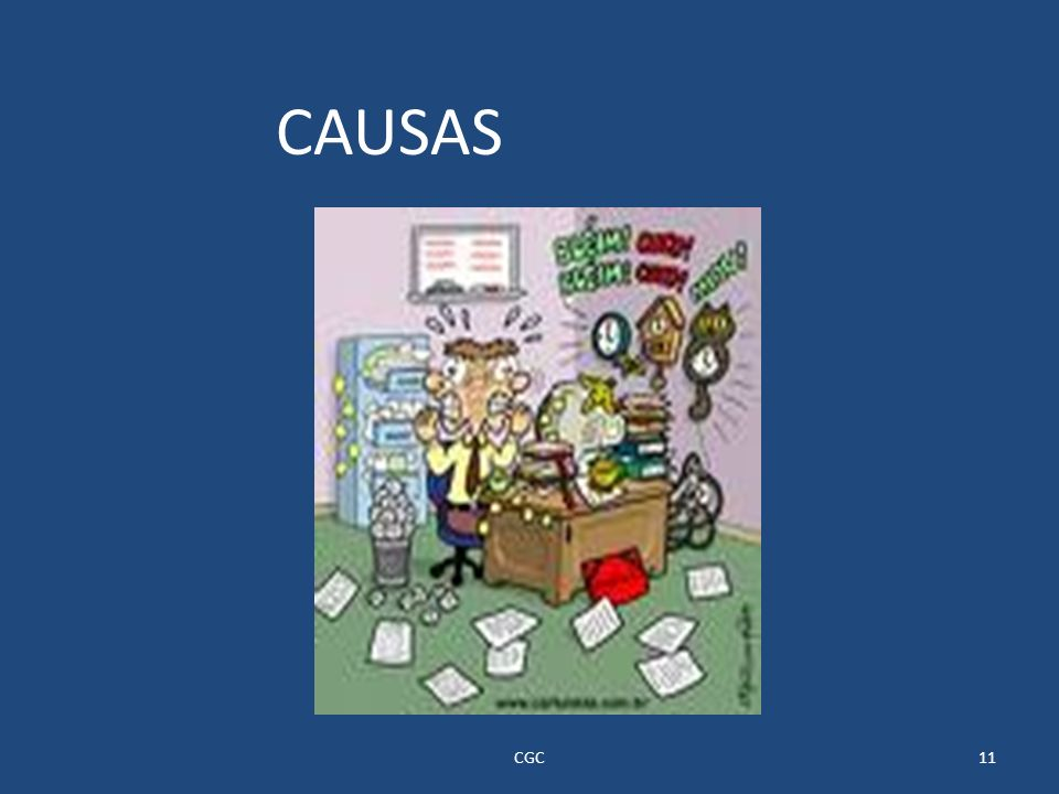 CAUSAS CGC