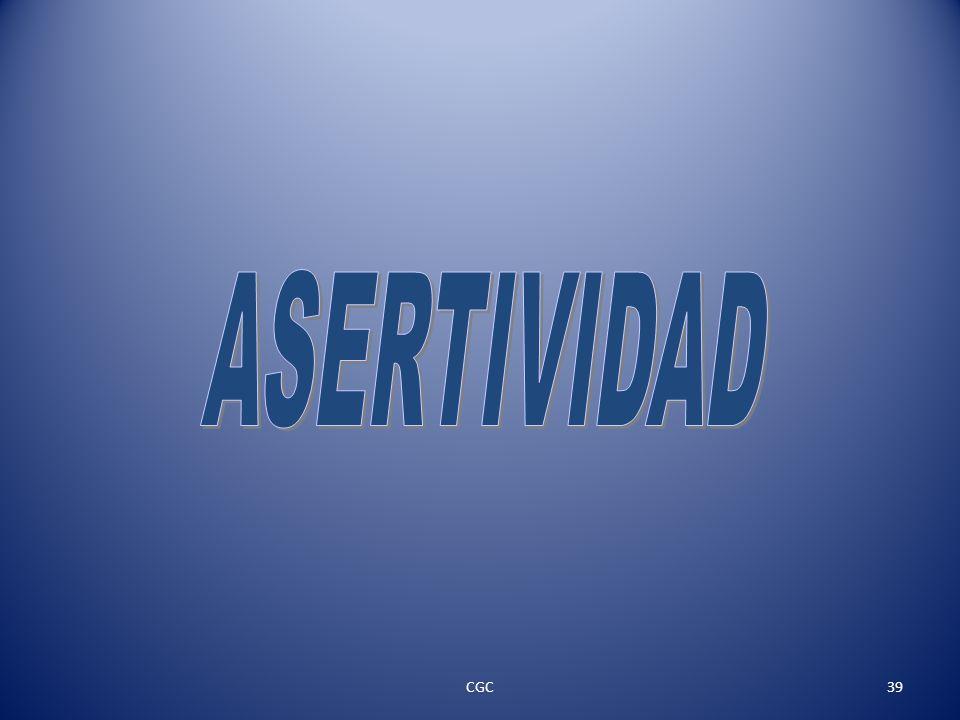 ASERTIVIDAD CGC