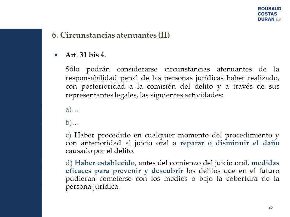 6. Circunstancias atenuantes (II)