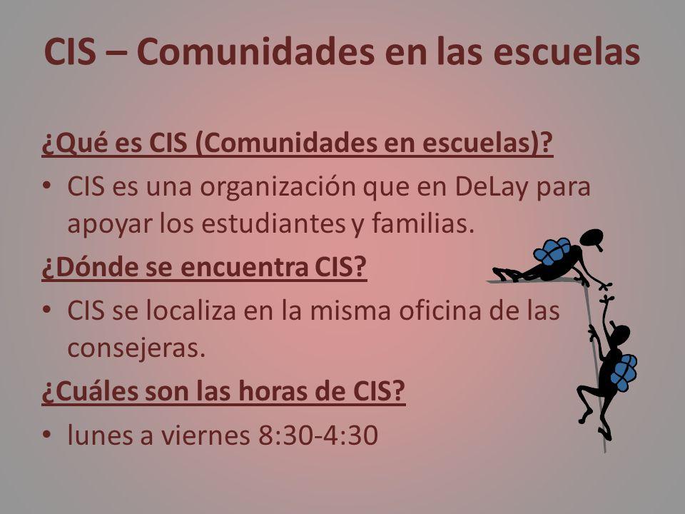 CIS – Comunidades en las escuelas