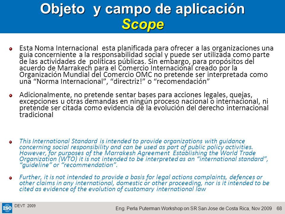 Objeto y campo de aplicación Scope