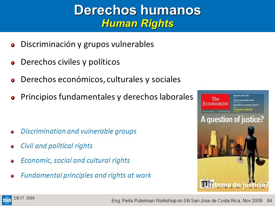 Derechos humanos Human Rights