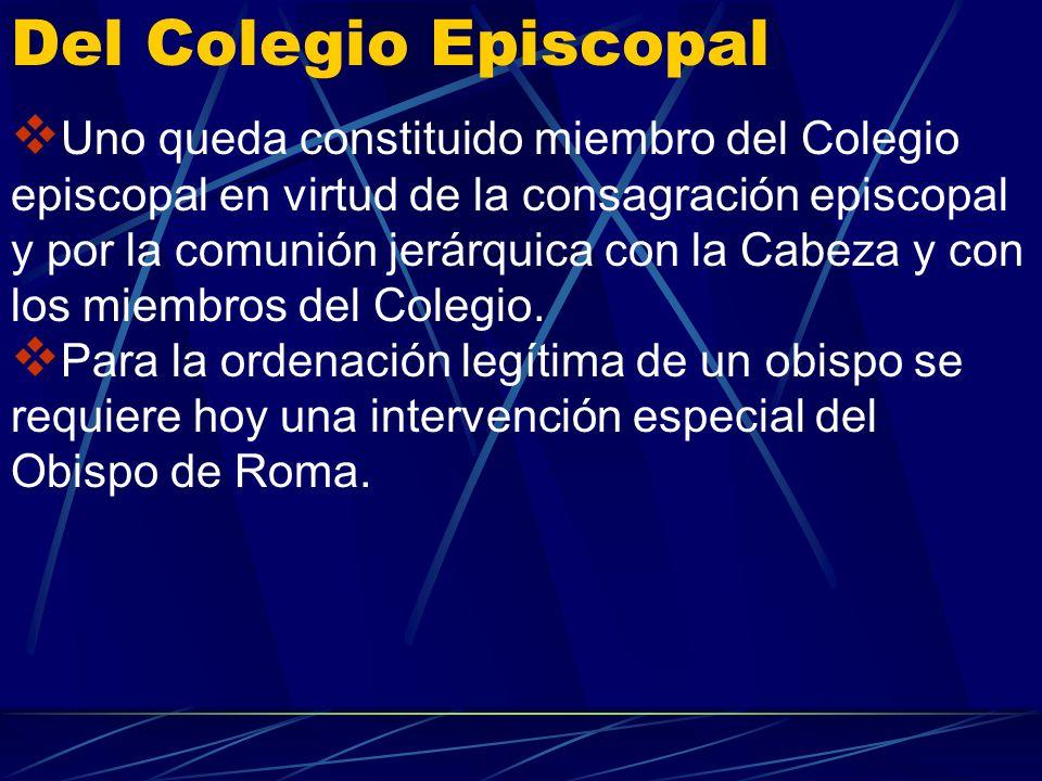 Del Colegio Episcopal