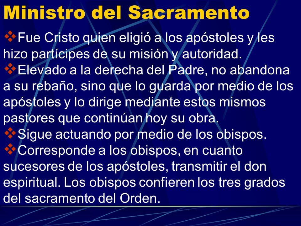 Ministro del Sacramento