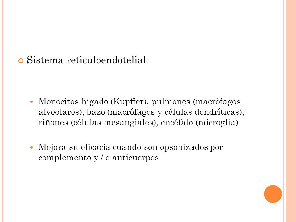 Sistema reticuloendotelial