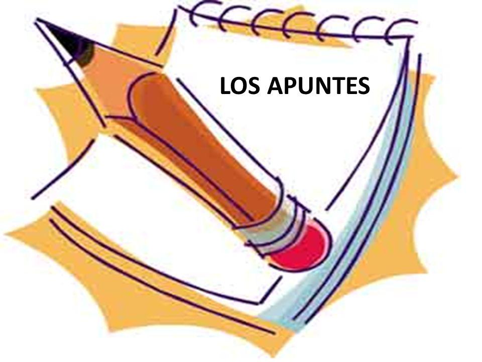 LOS APUNTES