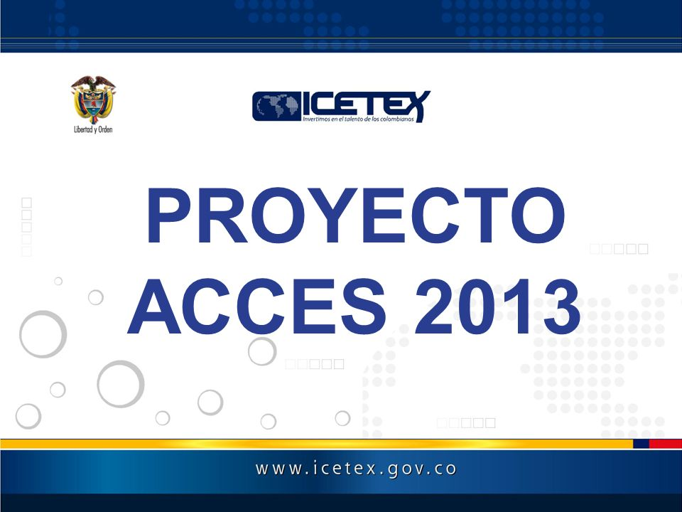 PROYECTO ACCES 2013