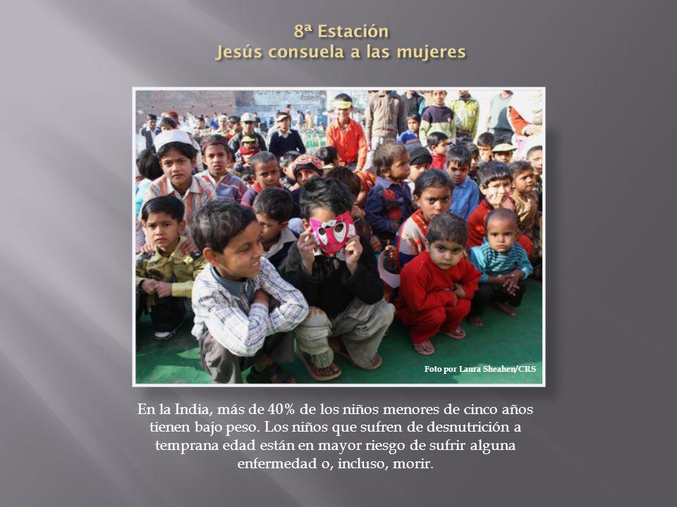 8ª Estación Jesús consuela a las mujeres