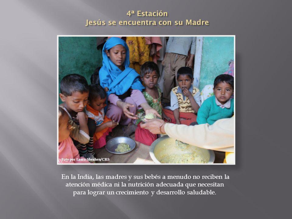 4ª Estación Jesús se encuentra con su Madre