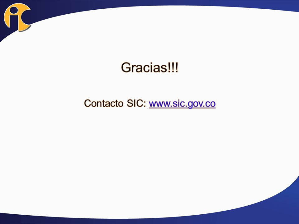 Contacto SIC: www.sic.gov.co
