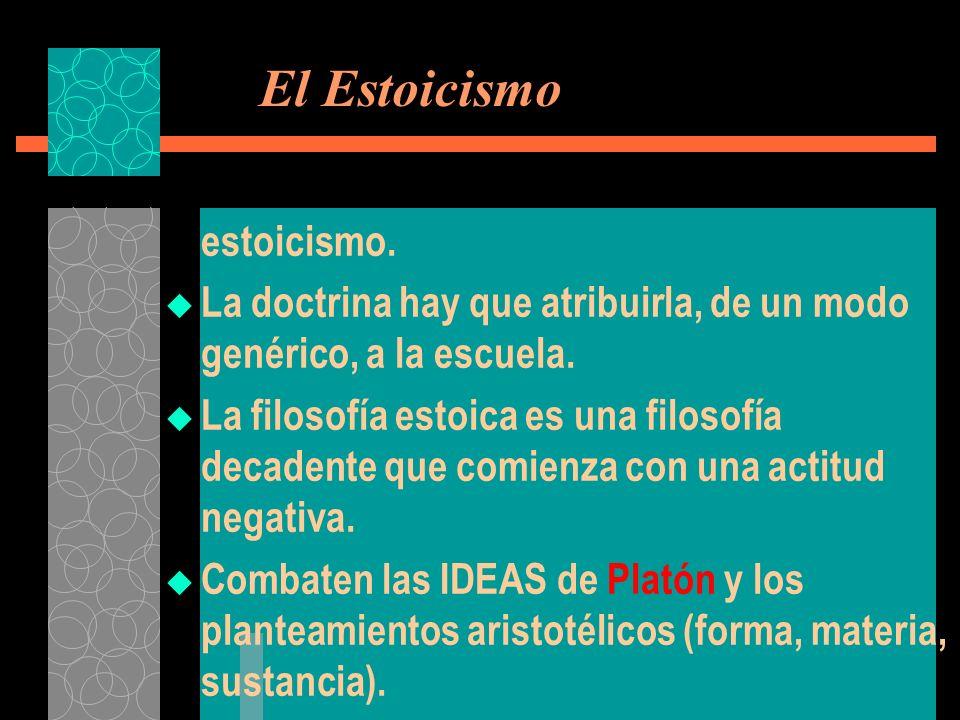 El Estoicismo estoicismo.