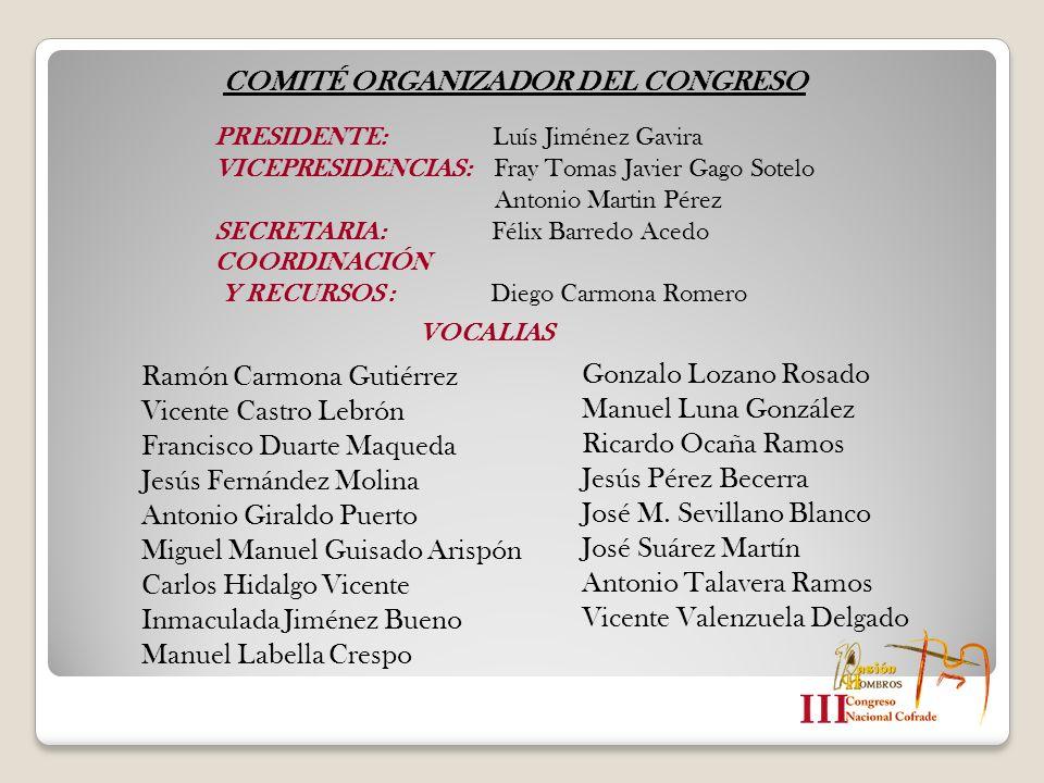 COMITÉ ORGANIZADOR DEL CONGRESO