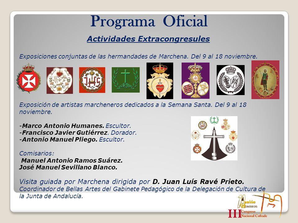 Programa Oficial Actividades Extracongresules
