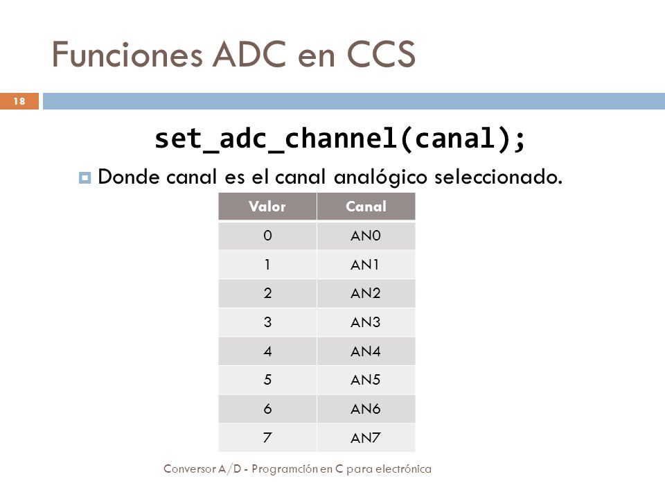 set_adc_channel(canal);