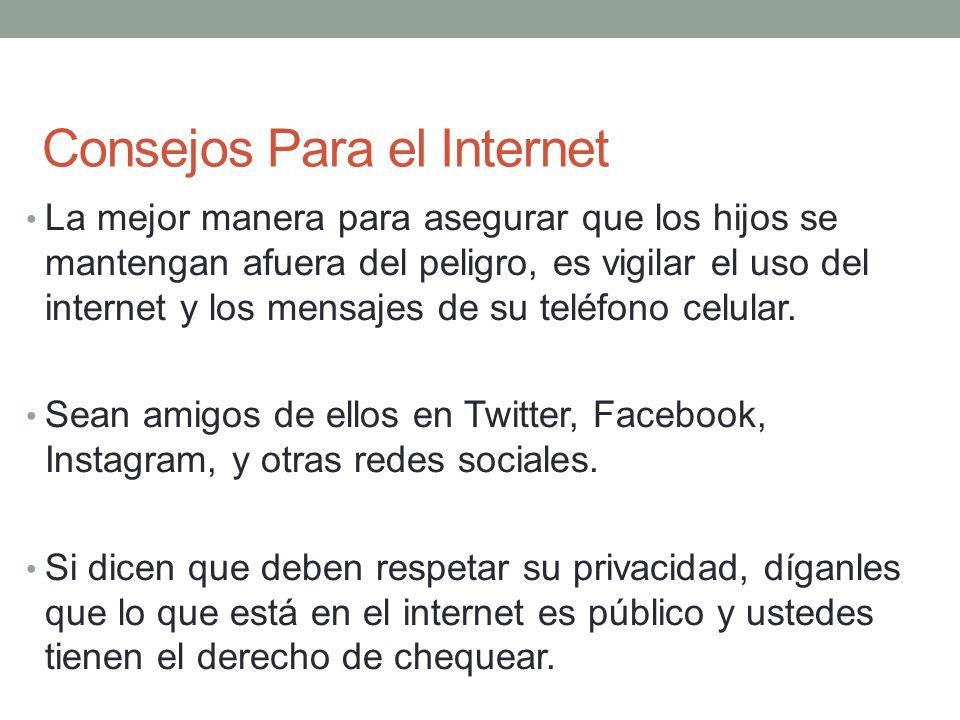 Consejos Para el Internet