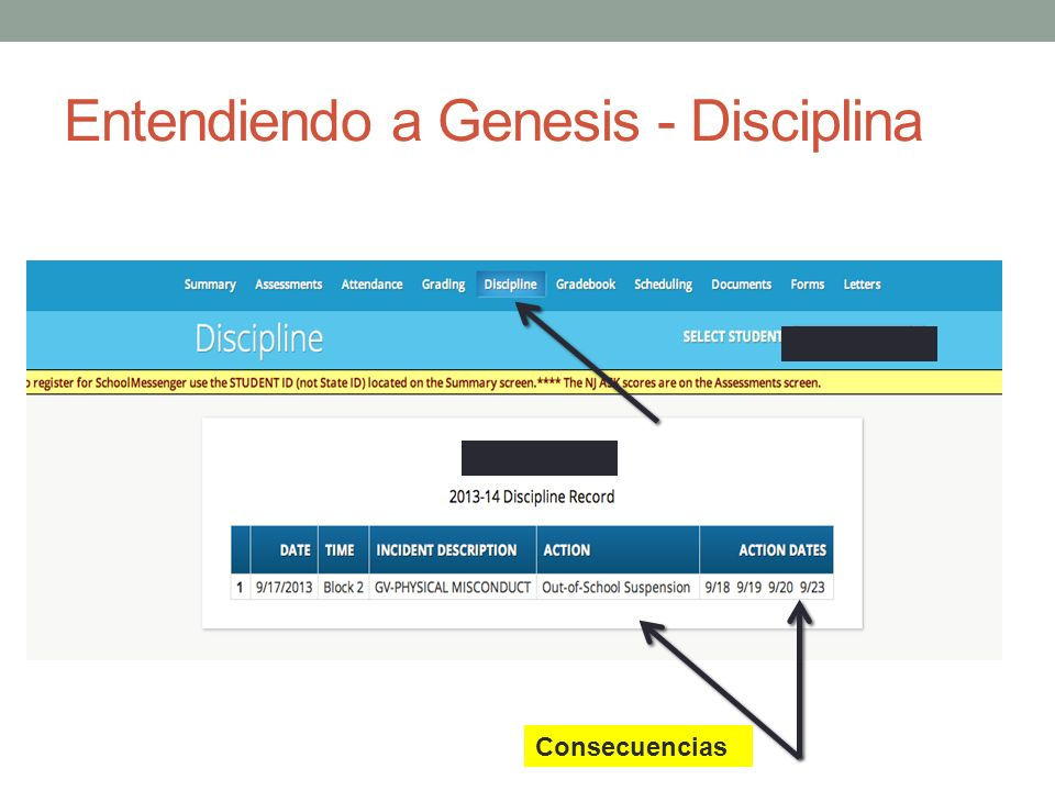 Entendiendo a Genesis - Disciplina