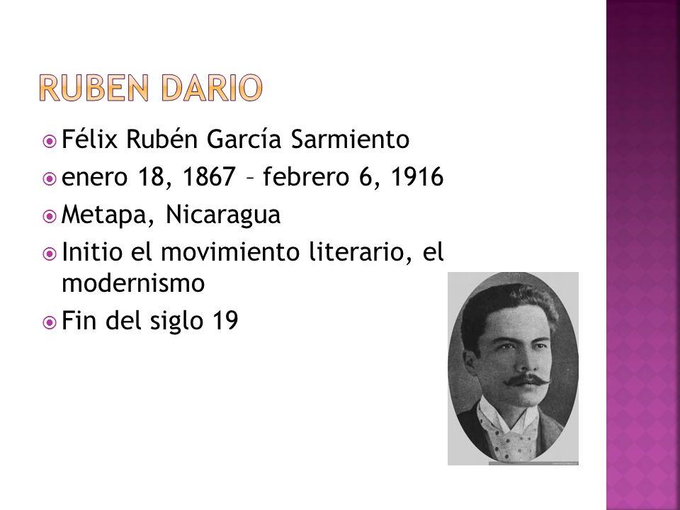Ruben Dario Félix Rubén García Sarmiento