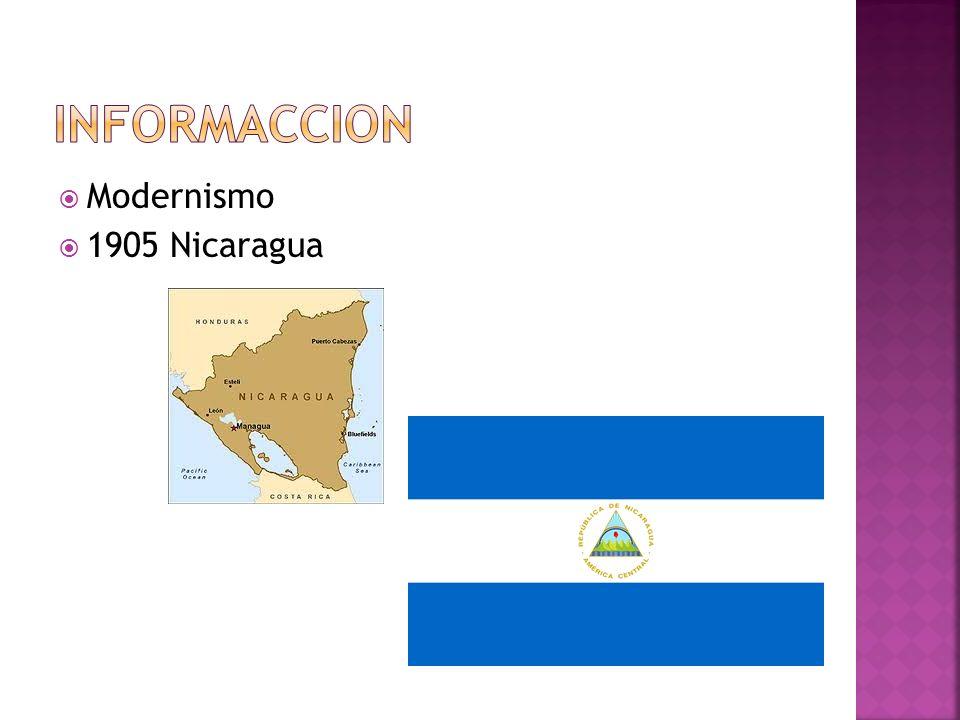InformACCION Modernismo 1905 Nicaragua