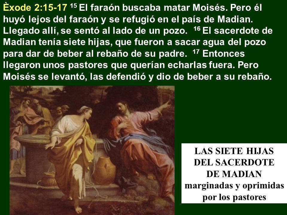 Èxode 2:15-17 15 El faraón buscaba matar Moisés