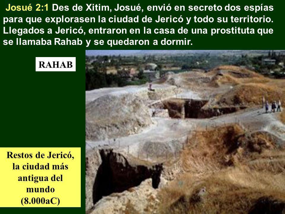 Restos de Jericó, la ciudad más antigua del mundo (8.000aC)