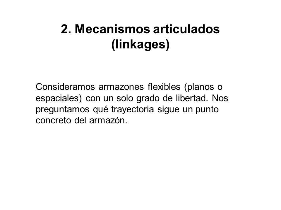 2. Mecanismos articulados (linkages)