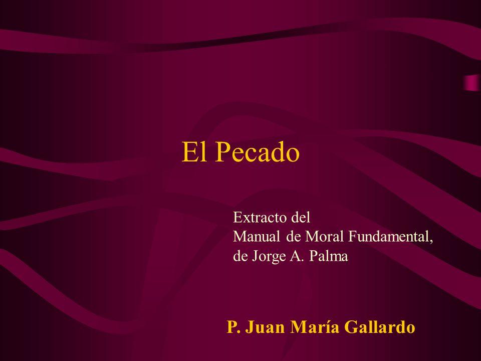 El Pecado P. Juan María Gallardo