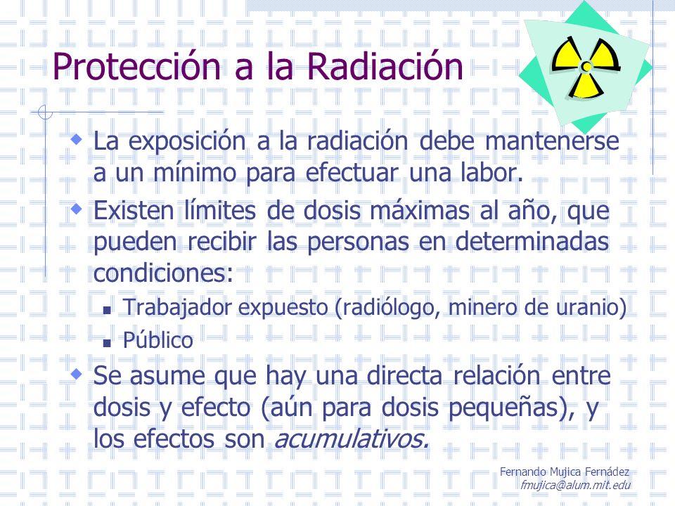 Protección a la Radiación