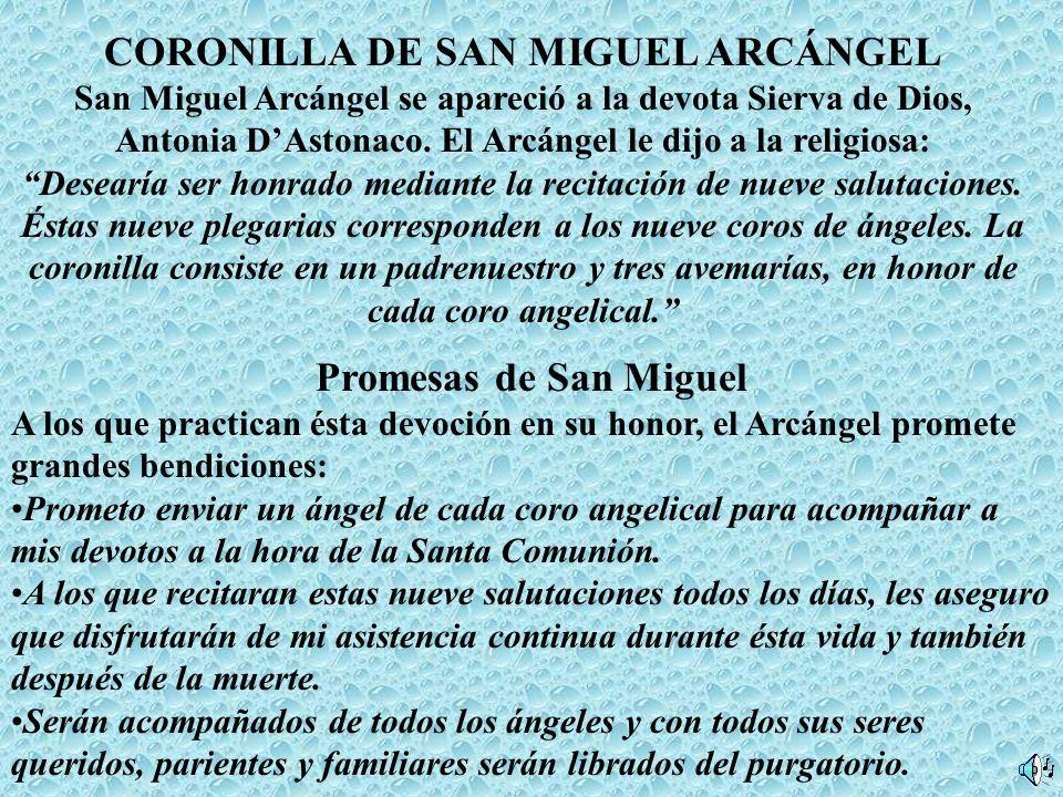 CORONILLA DE SAN MIGUEL ARCÁNGEL