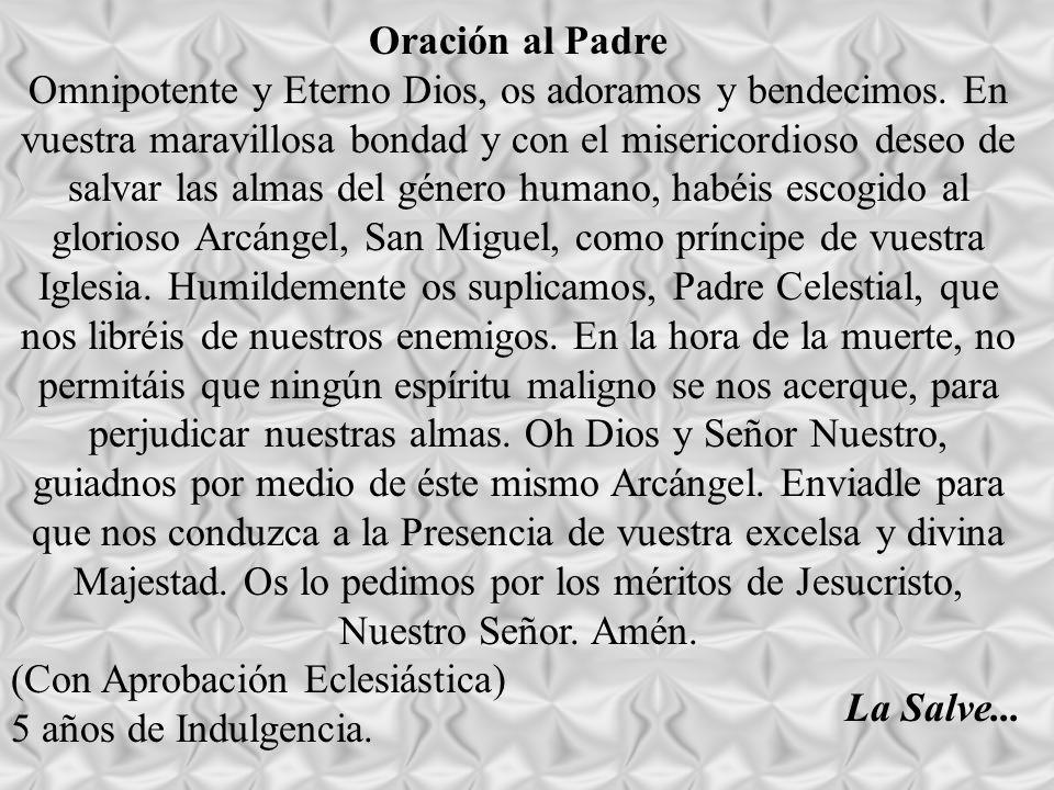 Oración al Padre