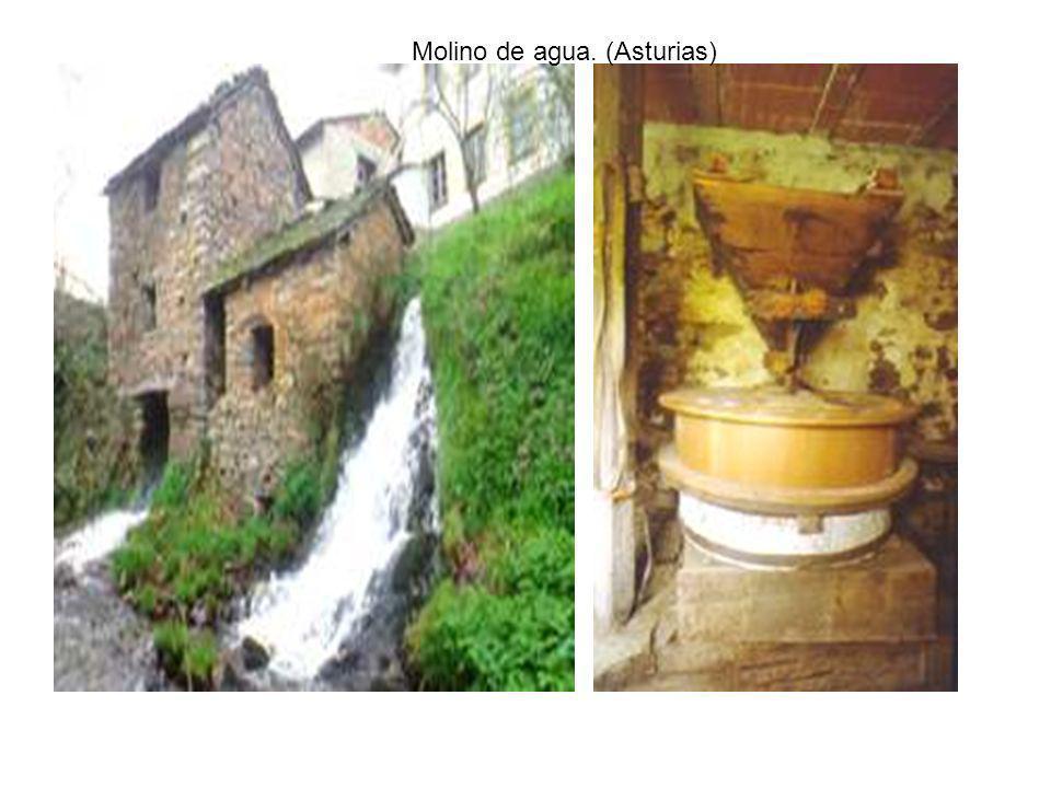 Molino de agua. (Asturias)