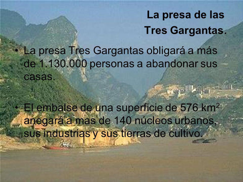 La presa de las Tres Gargantas.