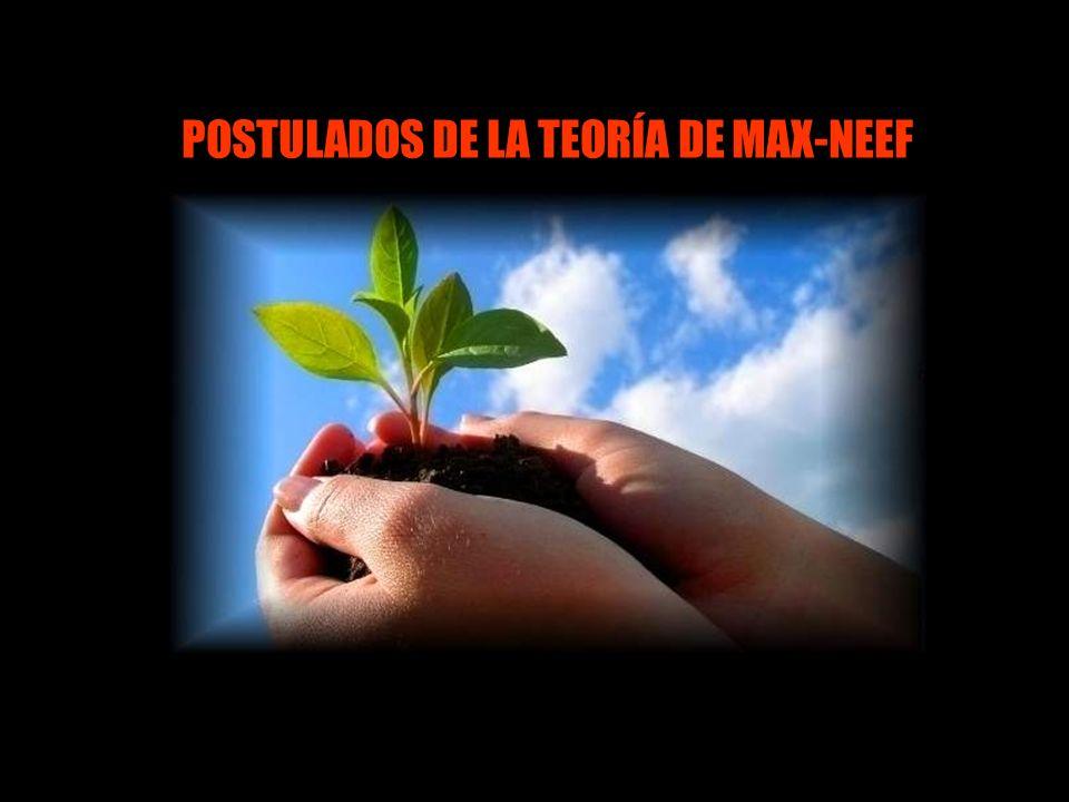 POSTULADOS DE LA TEORÍA DE MAX-NEEF