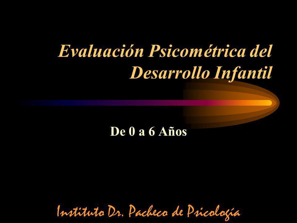 Evaluación Psicométrica del Desarrollo Infantil