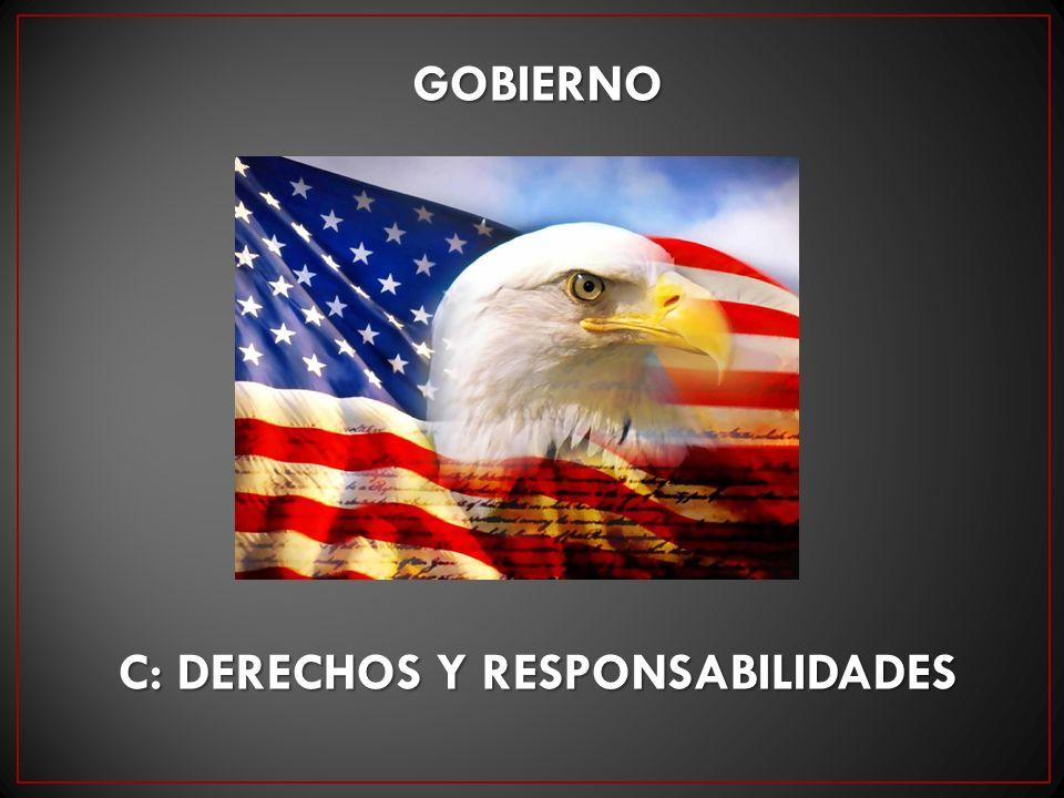 c: derechos y responsabilidades
