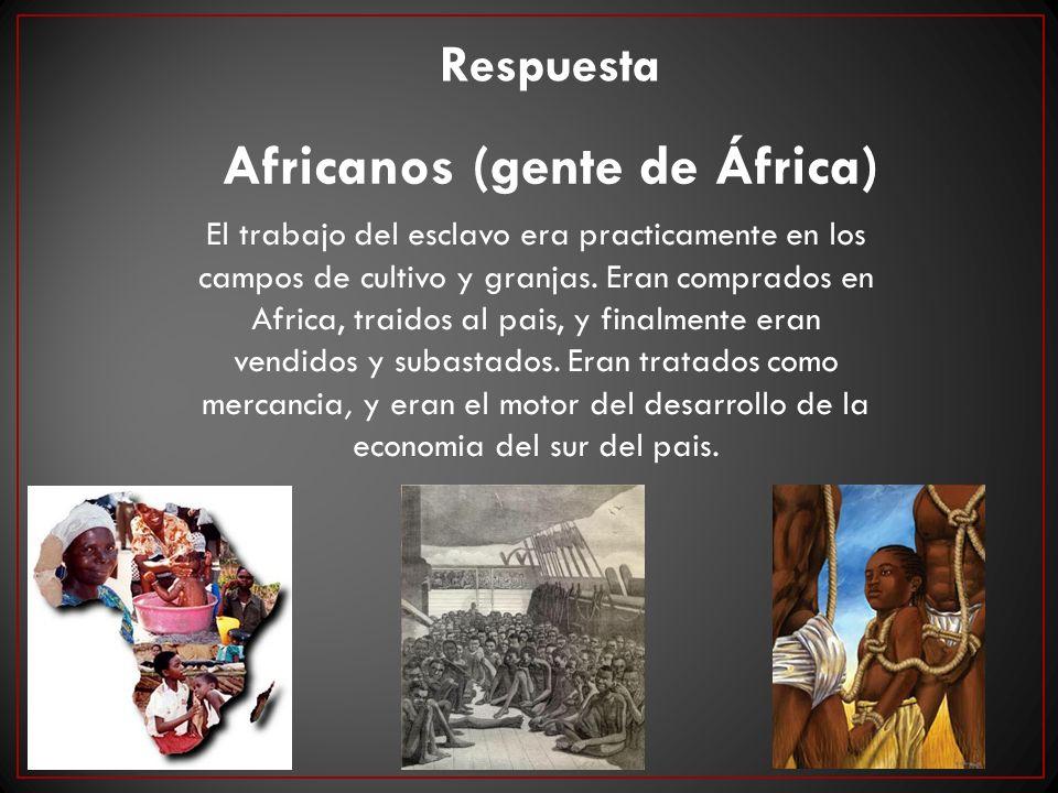 Africanos (gente de África)