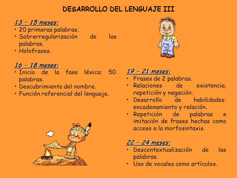 DESARROLLO DEL LENGUAJE III