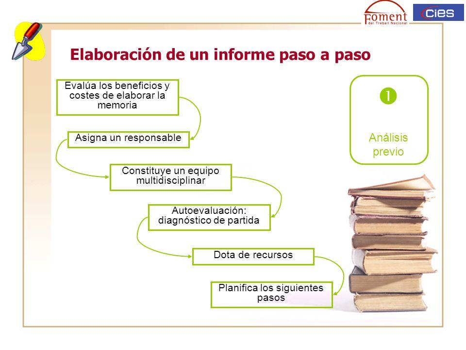 Elaboración de un informe paso a paso