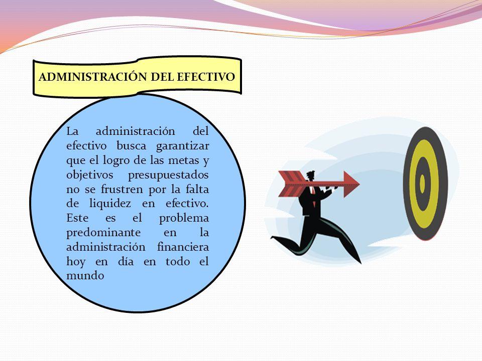 ADMINISTRACIÓN DEL EFECTIVO