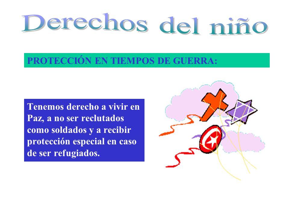 PROTECCIÓN EN TIEMPOS DE GUERRA:
